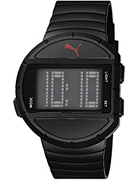 Puma Time Herren-Armbanduhr Half Time L Digital Quarz Plastik PU910891003