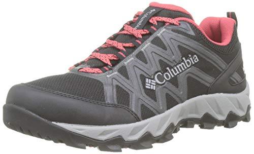Columbia Peakfreak X2 Mid Outdry, Zapatos de Senderismo para Mujer, Negro Black, Daredevi 010, 38...
