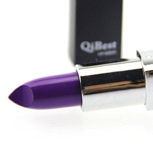 Vovotrade Vente chaude étanche Long Lasting Vampire style Maquillage Rouge à lèvres Lip Gloss(Lila#4)