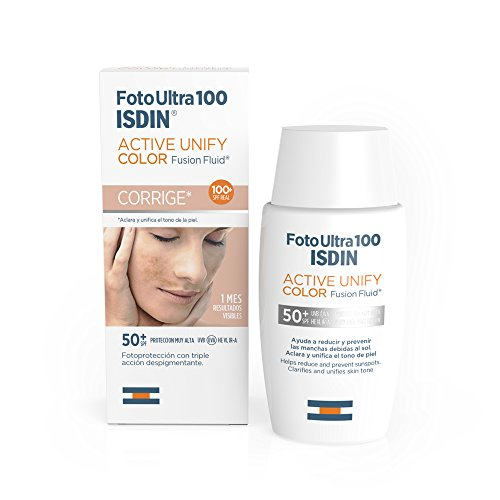 Foto Ultra 100 ISDIN Active Unify COLOR Fusion Fluid SPF 100+ - 50ml