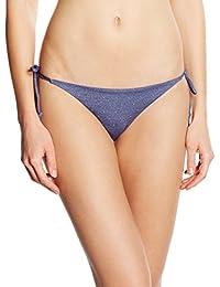 Women'secret Tacha Azul Bmt, Bas de Bikini Femme