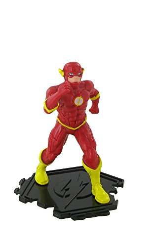 Figures of the League of Justice - Flash figure - 9 cm - DC comics - Justice league - League of Justice (Comansi Y99197)