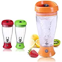 MAX HOME® Electric Protein Shaker Blender Water Bottle Automatic Movement Vortex Tornado Transparent Multifunction Smart Mixer Cup