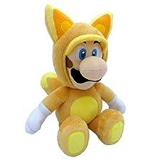 Nintendo 33cm SaneiSuperMarioBrosPlushFoxLuigi