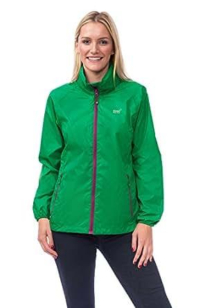 Mac in a Sac Origin Unisex Waterproof Packaway Jacket (Emerald, XXS)