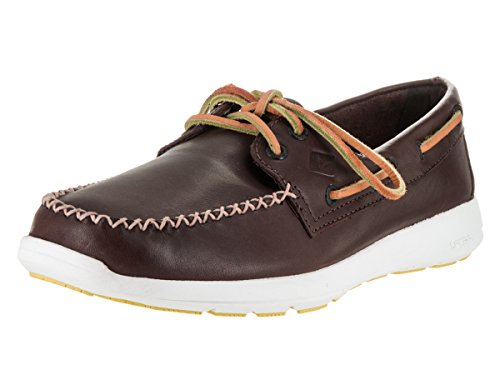 Sperry Herren Sojourn Leather Sneaker Classic Brown