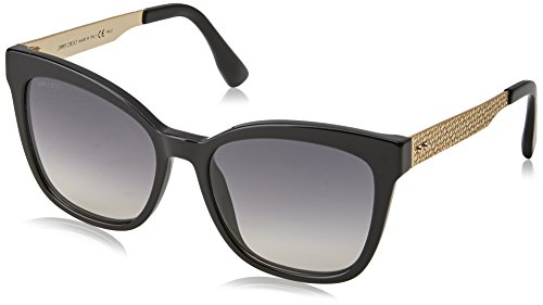 Jimmy Choo Damen JUNIA/S 9C QFE 55 Sonnenbrille, Schwarz (Black Rosegld/Dark Grey Sf),