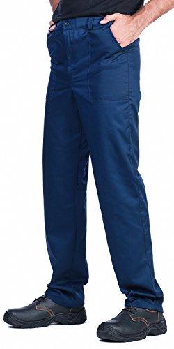 Herren Arbeitshose, Bundhose,Verschiedene Farben,Größen S-XXXL,Arbeitskleidung (L, Dunkelblau) (Arbeitskleidung Herren)