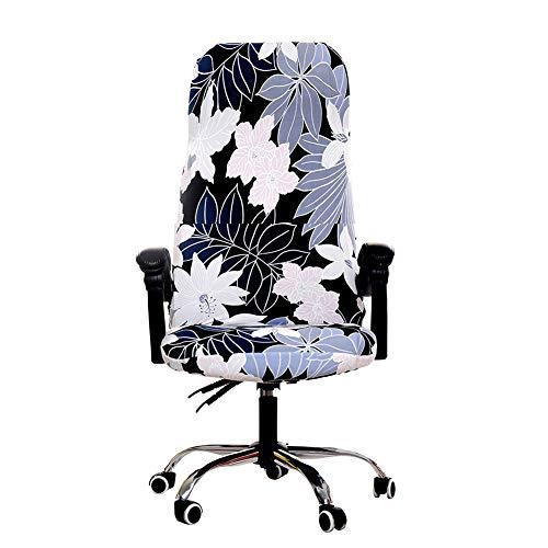 Stuhl Bezug Spandex Sessel Sitzbezüge Aufgabe Stuhl Bezug Schonbezug Büro Computer Stuhl Bezug Aufgabe Stuhl Schonbezug Elastic Bürostuhl Cover, C - Computer Büro Stuhl