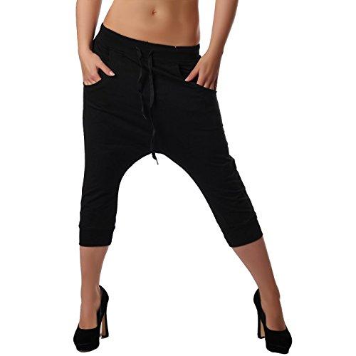 Crazy Age - Pantalon de Sport - Femme Noir Schwarz XS