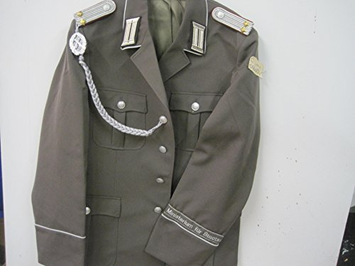 Leutnant Kostüm - NVA Uniform Ministerium für Staatssicherheit