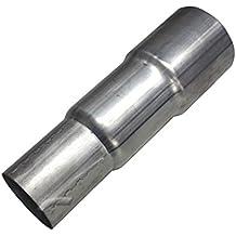 100mm//125mm aus verzinktem Edelstahl Reduzierung//Erweiterung f/ür L/üftungsrohre