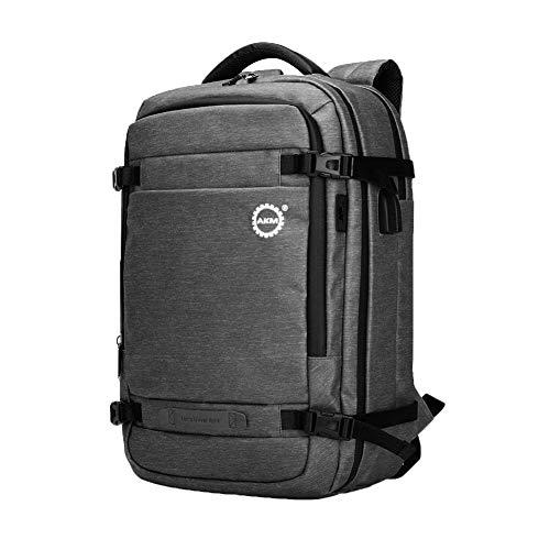Laptop Rucksack Herren und Damen für 17 Zoll Notebook Reiserucksack, Anti-Diebstahl Rucksack,Komfortabel und atmungsaktiv für Business Arbeit Schule Universität 20-35L