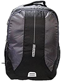 American Tourister Canvas Grey School Backpack