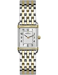 Art Deco Women'Michel Herbelin Damen Armbanduhr Analog Edelstahl silber 17478 Set/4/T22B