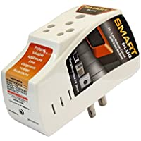 Smart Plug High Low Voltage Cutout/Protector Rated @ 16Amp with Surge Protection Upto 4000 Volts.