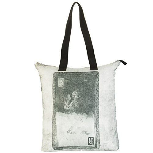 ReligionNa1275 - Virtue Prnter Tote Back - Sacchetto donna Multicolore (Multicolore)