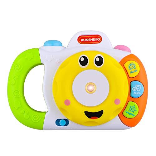 CITOY Kamera-Spielzeug für Kinder von 1-6 Jahren, Geschenk für Jungen und Mädchen, gelb