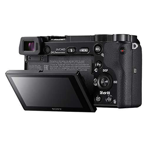 Sony Alpha ILCE-6000L 24.3MP Digital SLR Camera (Black) with 16-50mm Lens and with Free Sony XB10 Bluetooth Speaker