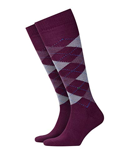 Burlington Preston Herren Kniestrümpfe purple (8712) 40-46 One size fits all (Gr. 40-46)
