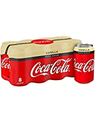 Coca-Cola Zero Sugar Vanilla 8 x 330ml Cans