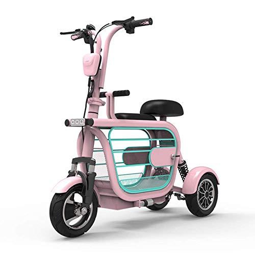 ZGYQGOO Scooter Movilidad eléctrica Estilo Retro
