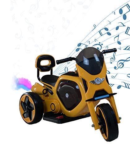 AIREL Electric Motorrad für Kinder | Elektrisches Motorrad Kinder | Elektrisches Motorrad mit Musik und Licht | Motorradbatterie für Kinder | Motorrad Elektro Kinder| 1-4 Jahre
