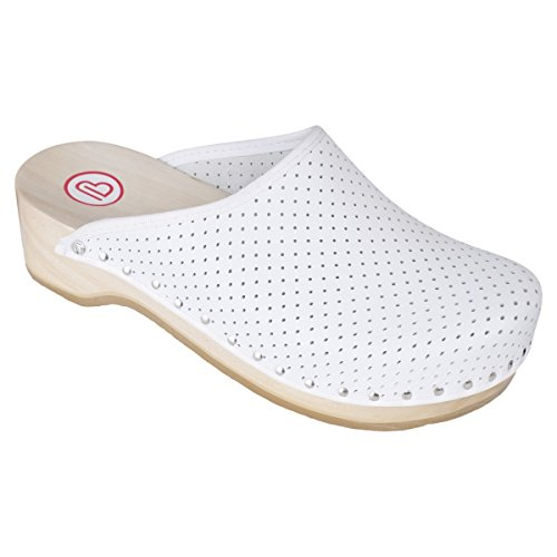 Berkemann Standard Toeffler 00400, Chaussures mixte adulte Blanc