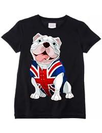 British Bulldog Kids / Children's T-Shirt (Choice of Colour)