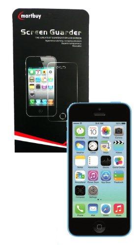 Emartbuy® Apple Iphone 5c Della Pellicola Protettiva Schermo / Film / Guardia 5 In 1 Con Microfibra Panno Di Pulizia
