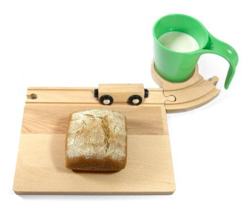 Neue Freunde - EISENBAHN Frühstücks-Set, grün