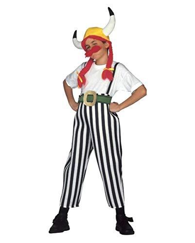 Dicker Gallier Kinderkostüm L (Kelten Kostüm Für Jungen)