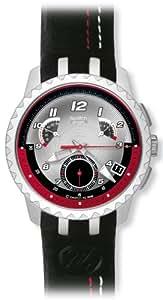 Swatch YRS411 Bracelet En Cuir - Montre Homme