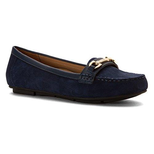 Vionic Sportschuh Damen Kenia Loafer Schuhe Navy Kidsuede
