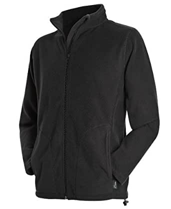 Stedman ST5030 Mens Active Fleece Jacket Black Opal S