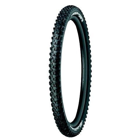 Michelin Wild Grip'R, Pneu VTT, Tringle Souple, Tubeless Ready, Noir, 27.5 x 2.25