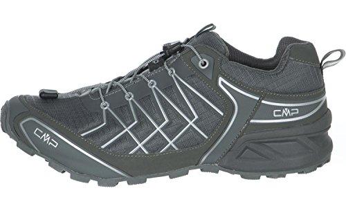 CMP Super X - Scarpe da Trail Running Uomo Grigio (Grey)
