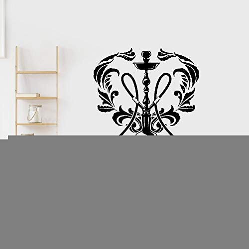 Wandaufkleber Kinderzimmer wandaufkleber 3d Shisha Shop Aufkleber Mann Aufkleber Shisha Smoking Smoke Arabisch Aufkleber Kunst Wandbild für Shisha Shop