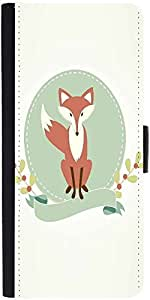 Snoogg A Foxdesigner Protective Flip Case Cover For Samsung Galaxy S3 Mini