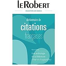 Dictionnaire de citations françaises - L'intégrale - Grand format