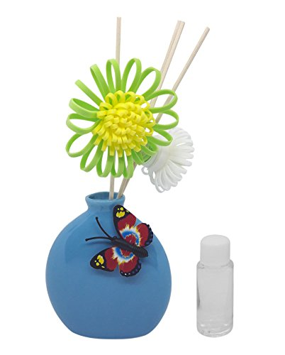 [Sponsored Products]TiedRibbons® Aroma Reed Diffuser Vase Shaped Container With Floral Reed Sticks And 30 Ml Fragrance Oil | Diwali Gift | Home Decor | Home Decorative Items In Living Room |