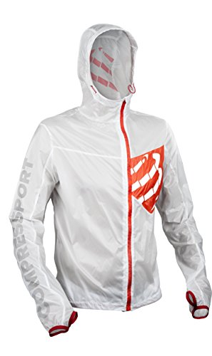 Compressport Jacke Hurricane Weiß