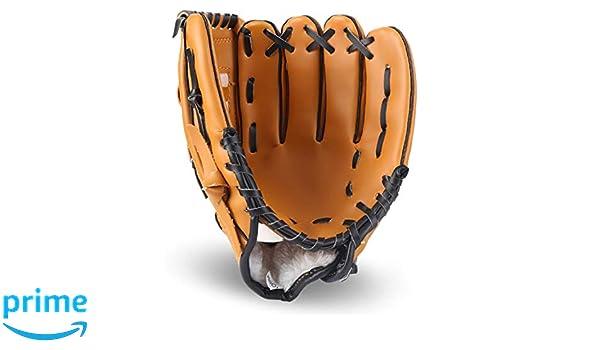 Lawei Baseball Handschuhe Batting PU Leder Baseball Glove f/ür Sport /& Outdoor Kinder Erwachsene 3 Gr/ö/ßen