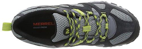 Merrell Rockbit Gtx, Sandales de marche homme Gris (Castle Rock/Green Oasis)