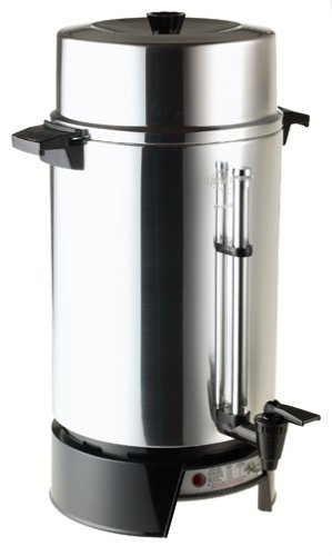West Bend 33600 100-Cup Commercial Coffee Urn by...
