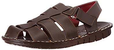 Bata Men's Krypton Sandal Brown Athletic & Outdoor Sandals - 11 UK/India (45 EU) (8614067)