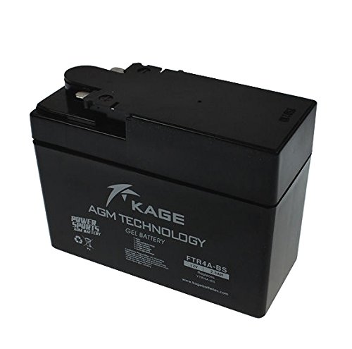 Batería de gel para moto SATKIT YTR4A-BS