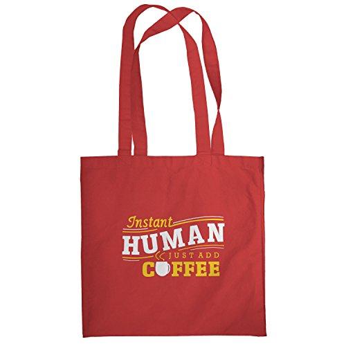 Texlab–instant Human–sacchetto di stoffa Rot