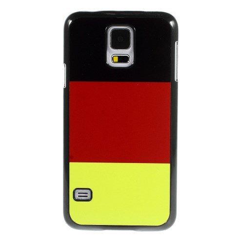 Hard Case / Cover Samsung Galaxy S5 / GT-i9600 Hard Case Quatrième de couverture Shell Allemagne Drapeau