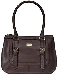 Satya Paul Women'S Brown PU Handbag - (34 X 12 X 25 Cm)